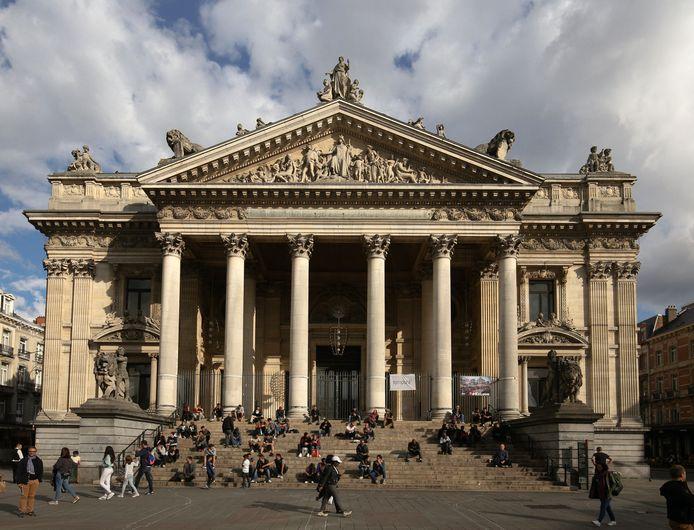 De Beurs van Brussel op archiefbeeld.
