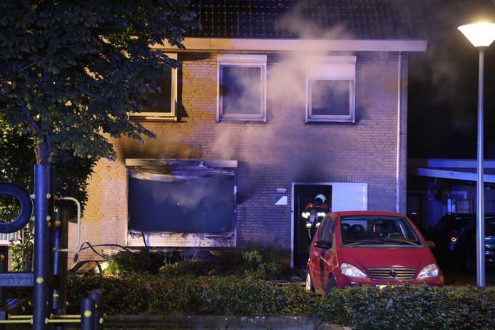 Woningbrand in Berghem