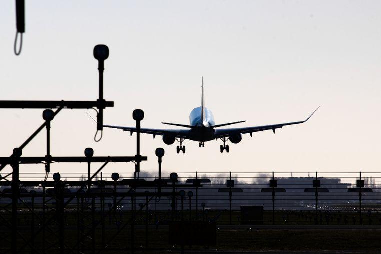 In het eerste kwartaal van 2021 vervoerde de KLM slechts 1,7 miljoen passagiers. Beeld NurPhoto via Getty Images