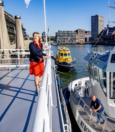 Rotterdammers bouwen een schone boot voor het bevoorraden van winkels in binnensteden