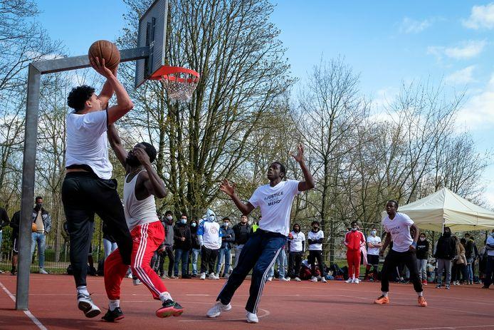 Basketbalplein krijgt naam van Mehdi Bouda.