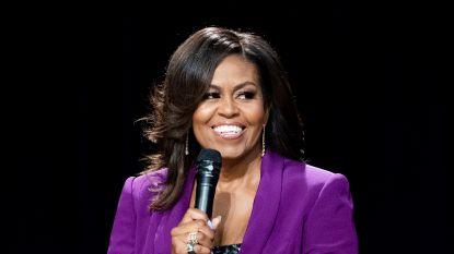 Michelle Obama spreekt Democratische Conventie toe