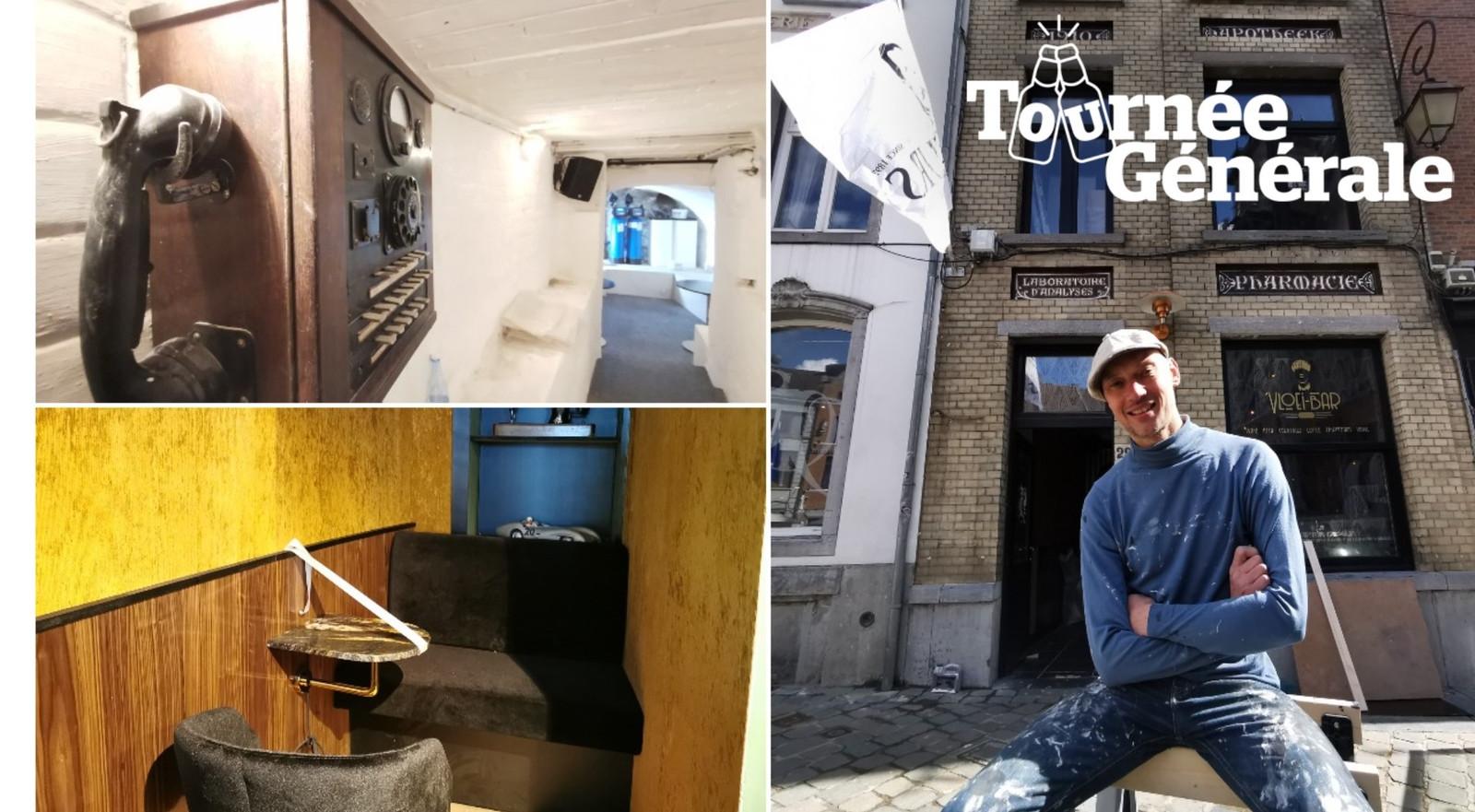We mochten even binnenkijken in Vloei-Bar, de nieuwe bar van sommelier Andy De Brouwer in Halle.