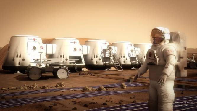 """Project Mars One is bedrog"""