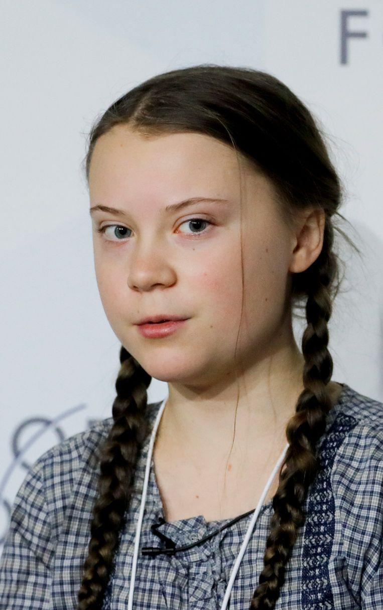 Greta Thunberg Beeld REUTERS