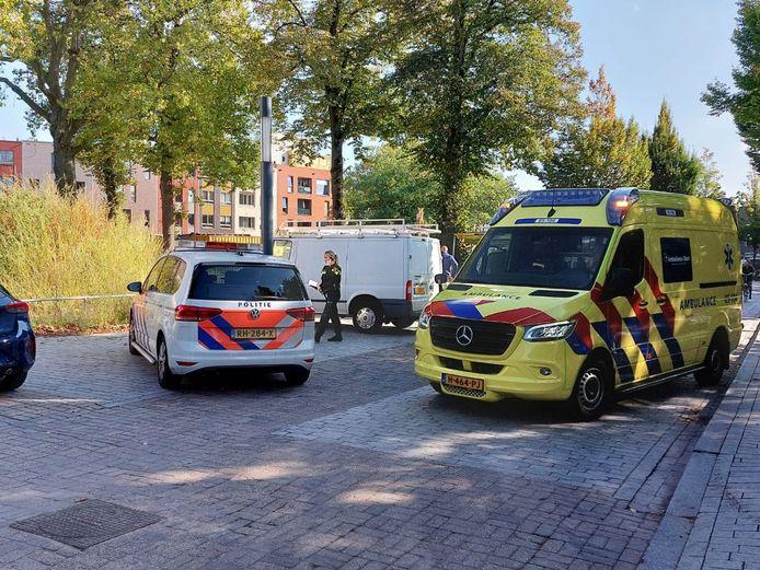 De hulpdiensten snelden naar het ongeval toe.
