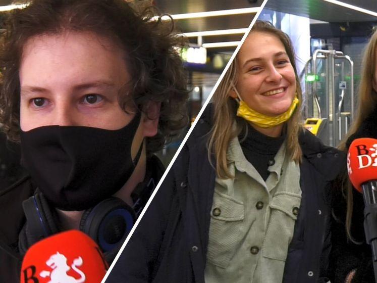 Emoties verhuld achter een mondkapje: 'Iedereen kijkt zo zuur'