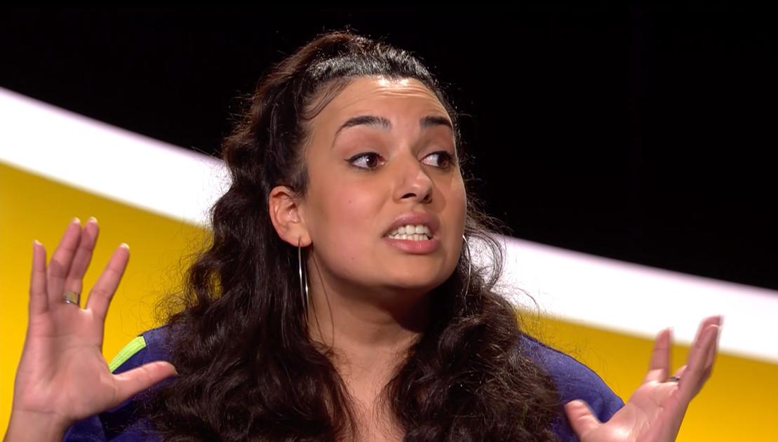 Serine Ayari vertelt over haar wortelfobie in 'De Slimste Mens Ter Wereld'.