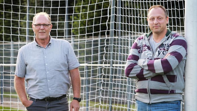 John Luijendijk (links) en André Tooi: ,,Iedereen heeft recht op een tweede kans in het leven.''