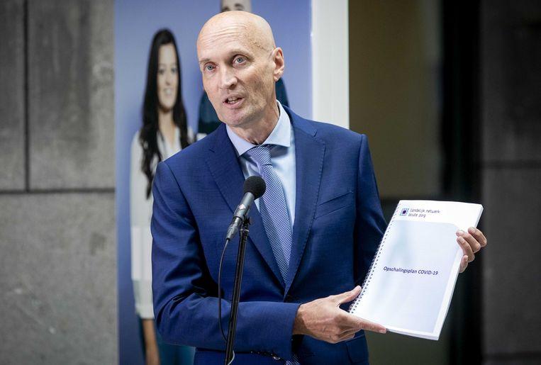 Ernst Kuipers, voorzitter Landelijk Netwerk Acute Zorg Beeld ANP