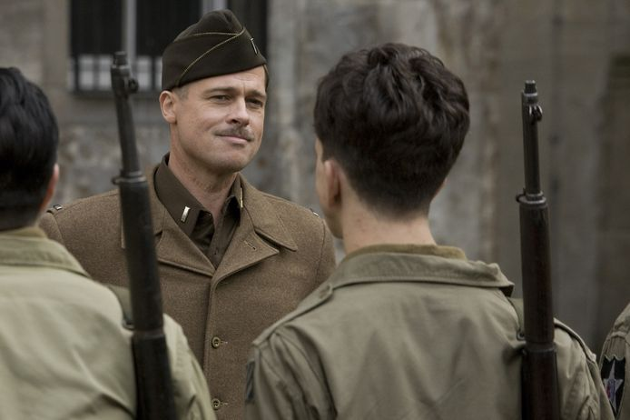 Aldo Raine (Brad Pitt) in Inglourious Basterds