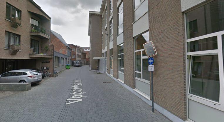 De Voochtstraat in Mechelen.