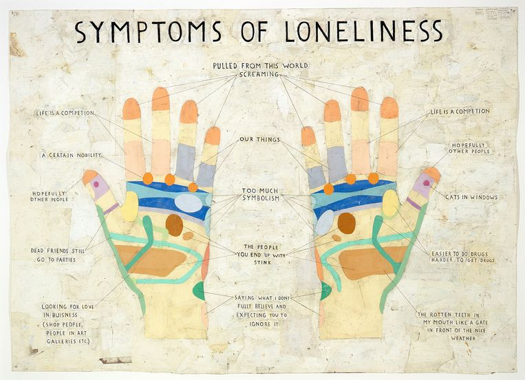 Symptoms of Loneliness, 2009. Beeld Simon Evans en James Cohan, New York.