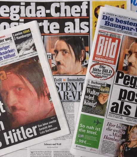 Leider anti-islambeweging Duitsland weg om Hitler-foto