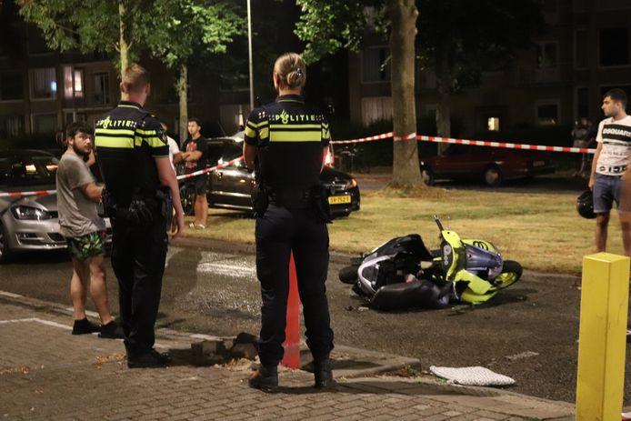Zaterdagavond 15 augustus rond 22.19 uur heeft een ongeval plaatsgevonden aan de Lessinglaan in Utrecht.