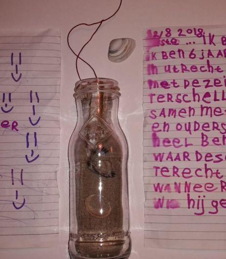 Utrechtse Marit die brief in fles stopte getraceerd na 'online-zoektocht'
