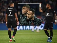Gespannen verhouding bij PSG: het schuurt tussen de sterren Neymar en Mbappé