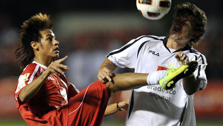 Neymar (l). Beeld afp