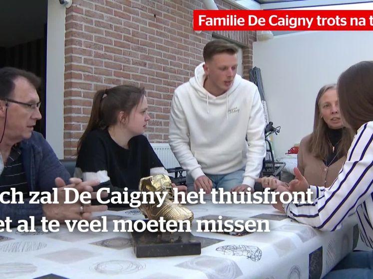 """Familie De Caigny trots na transfer naar Hoffenheim: """"Ik zal vaak naar daar rijden"""""""