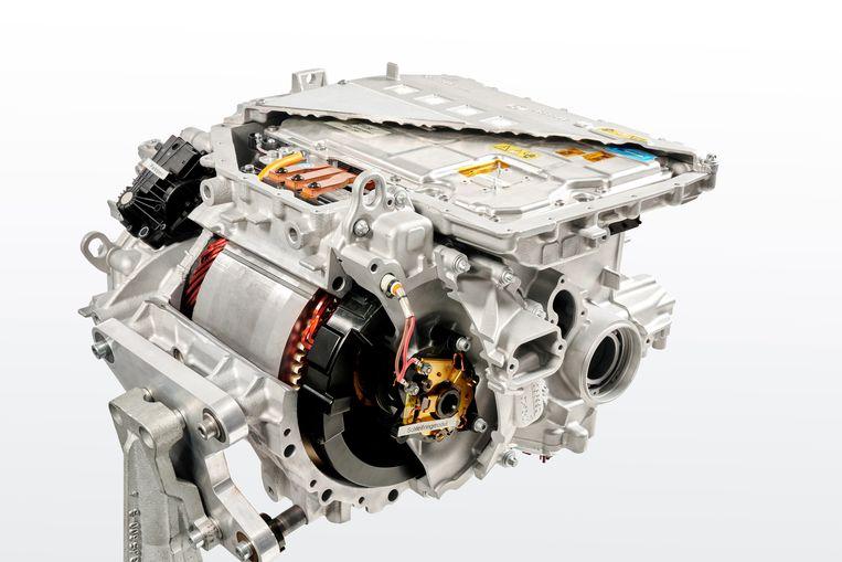Het hart van de iX3 is een bijzonder pientere elektromotor. Een van de claims van BMW is dat bij de fabricage ervan geen schaarse grondstoffen worden gebruikt. Beeld Tom Kirkpatrick ; BMW AG