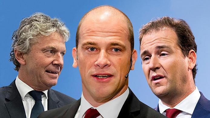 De drie rivalen Monasch, Samsom en Asscher krijgen er een concurrent bij.