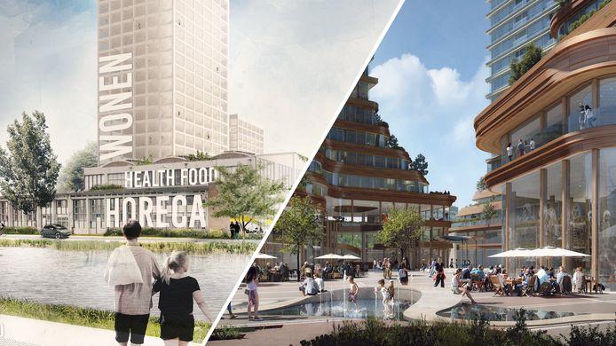 Impressie van toekomstig Eindhoven.