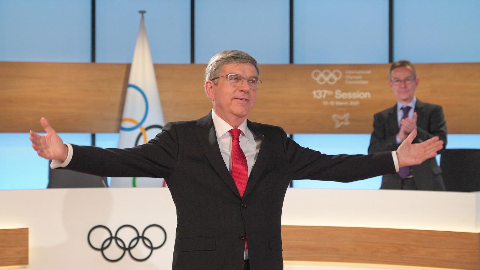 IOC-voorzitter Thomas Bach