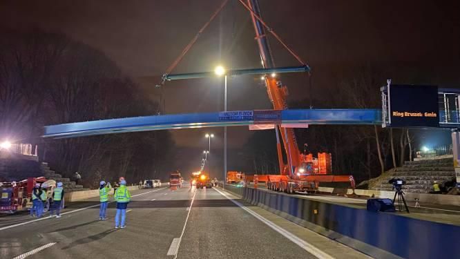 Brug over E40 in Affligem is open, en dat is goed nieuws voor inwoners Essene en Sint-Katherina-Lombeek