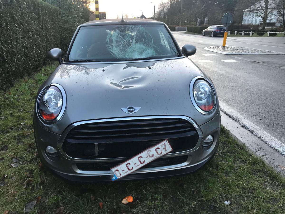 Ongeval op de Aarschotsesteenweg in Rotselaar