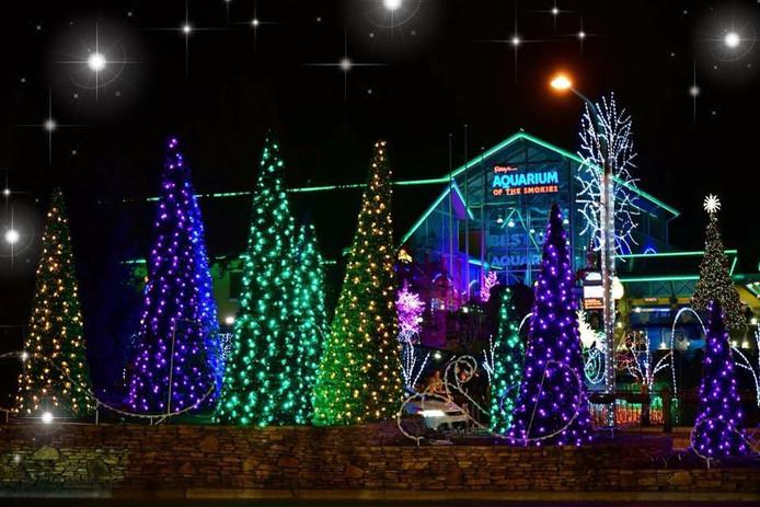 De wijk van Brody is al geheel in kerstsfeer voor de zieke Brody.