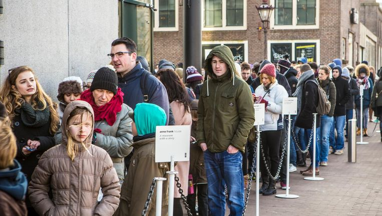 Het Anne Frank Huis is de Nederlandse cultuurorganisatie met de sterkste reputatie Beeld Floris Lok