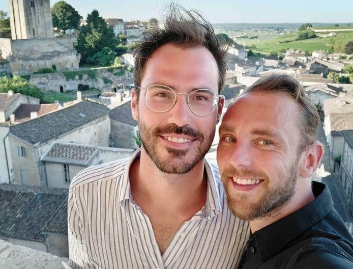 Christophe uit 'Blind Getrouwd' is niet langer samen met zijn vriend Carl.