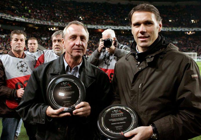 Johan Cruijff en Marco van Basten scoorden ooit zes keer in één duel.
