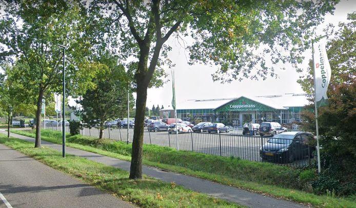 Tuincentrum Coppelmans aan de Heukelomseweg in de gemeente Oisterwijk.
