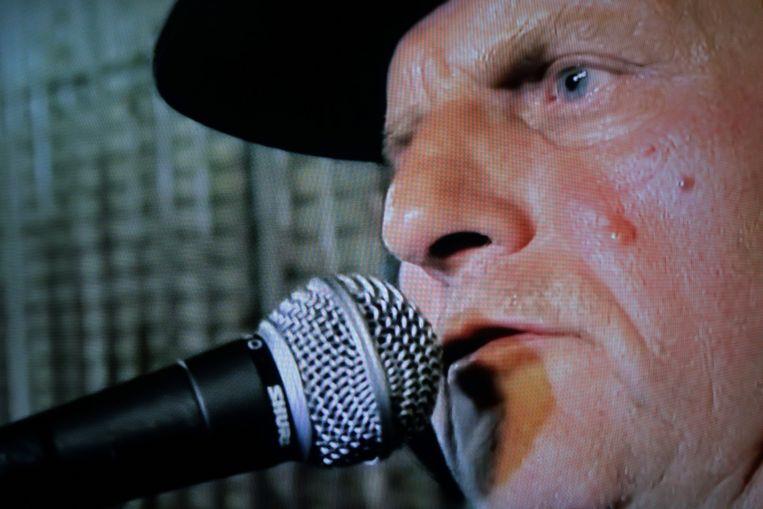 Harry Muskee in Talkin' Blues. Beeld NTR