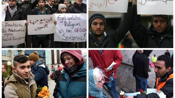 """Syrische vluchtelingen: """"Zijn we allemaal verkrachters? Nee, wij zijn Keulen"""""""