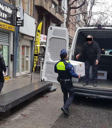 Vijf voertuigen in beslag genomen voor openstaande schuld van 75.000 euro
