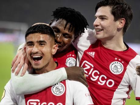 Gretig Ajax beleeft probleemloze avond tegen Spakenburg