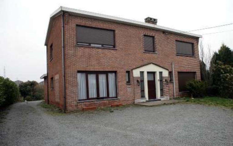 Het huis van Abdelkader Belliraj in Evergem.