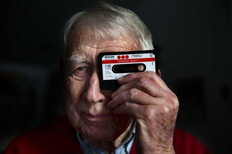 Bij Philips stond Lou Ottens aan het hoofd van de ontwikkeling van het cassettebandje en de cd. Beeld ANP