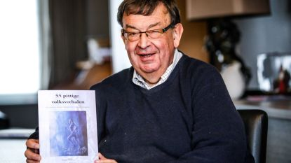 """Enzo (70) bundelt 55 cursiefjes in een boek: """"Wilde frustratie van ouder worden van me afschrijven"""""""