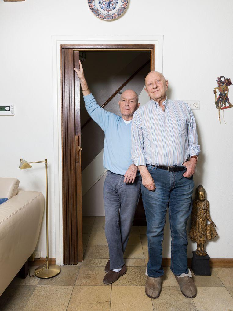 Ton and Louis. Beeld Ivo van der Bent