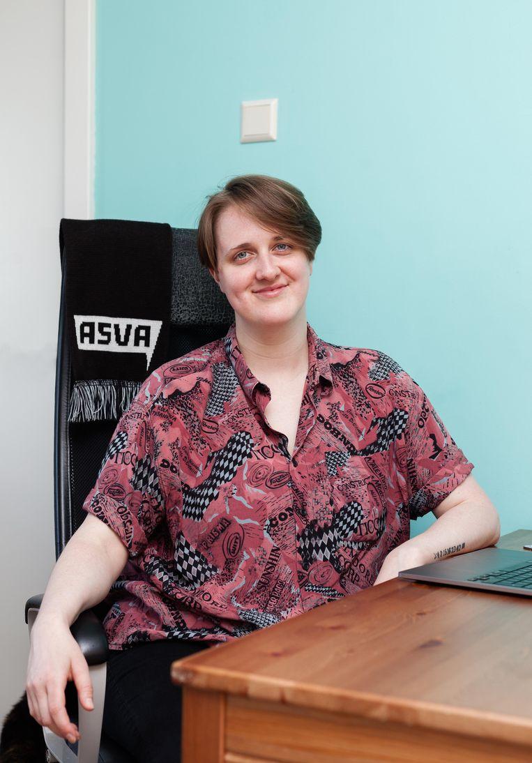 Andra Geurtz: 'We hebben het nu ook over het grotere verhaal: de hogere werk- en prestatiedruk.' Beeld Nina Schollaardt