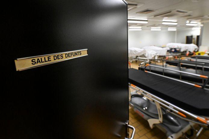 Morgue de l'hôpital de la Citadelle, à Liège (archives)