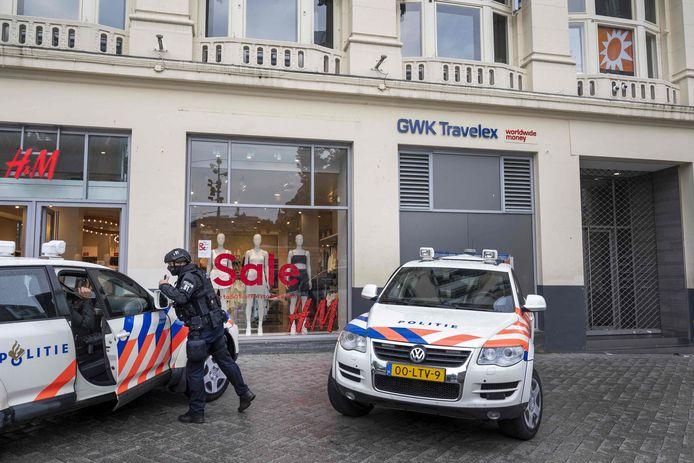 Le studio de RTL Boulevard sur la Leidseplein à Amsterdam a été évacué samedi.