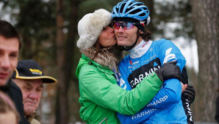 Johan Summeren met vrouw Jasmine. Beeld PHOTO_NEWS