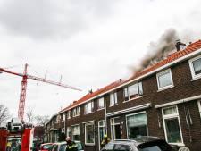 Brand op zolder in tussenwoning Dordrecht, bewoners en huisdieren veilig