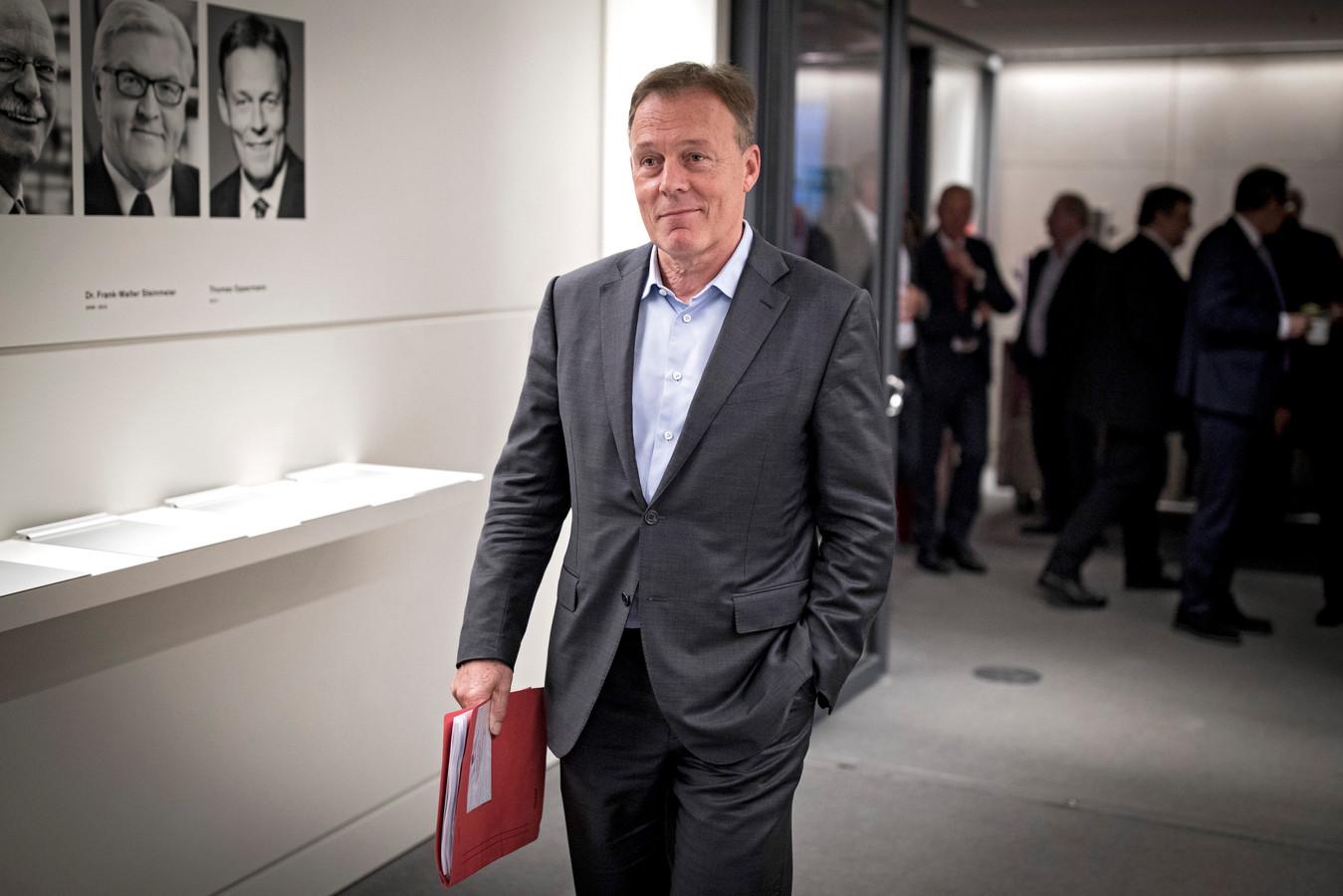 Thomas Oppermann op een archieffoto in 2017.