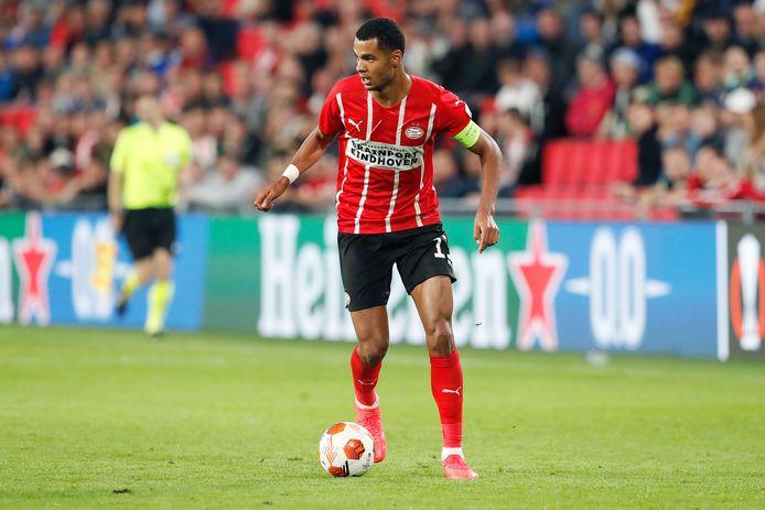 Cody Gakpo moet ook zondag tegen Feyenoord voor het nodige gevaar vanuit PSV zorgen.