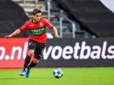 NEC-back Van Rooij niet bang voor 'Ted en Fred' bij Helmond Sport: 'Dit is míjn wedstrijd'